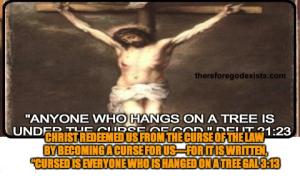 christ cursed
