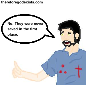 is it possible to lose salvation? 2