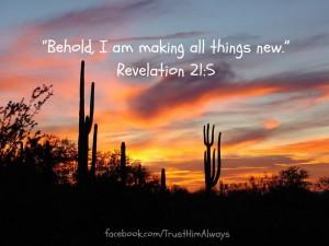 Revelation 21v 5