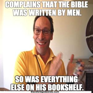 written by men