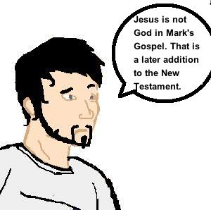 is jesus god in marks gospel?