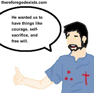 does free will solve the problem of evil? 2