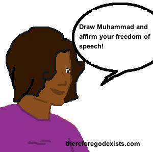draw muhammad 1